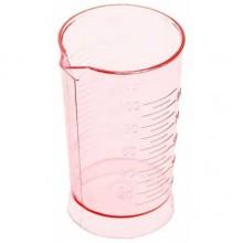 Мерный стаканчик розовый 100мл