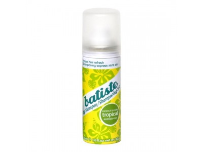 Batiste Dry shampoo Coconut & Exotic Tropical - Батист Сухой шампунь 50 мл.
