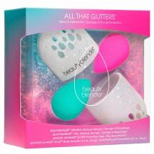 beautyblender All That Glitters - Подарочный набор 2 спонжа + мыло солид + футляр