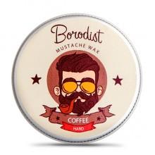 Borodist Wax Coffee - Воск для Усов КОФЕ13гр