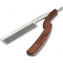 Borodist Comb Beard - Расческа для Бороды ОПАСНАЯ 0,8 х 2,6 х 14,7см