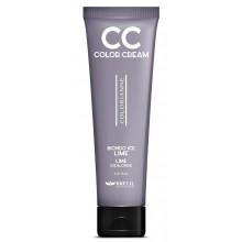 BRELIL Professional CC COLOR CREAM - Колорирующий крем Лайм (ЛЕДЯНОЙ БЛОНД) 150мл