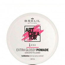 BRELIL Professional ART CREATOR Extra Glossy Pomade - Помада для волос экстра-блеск 50мл