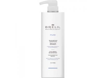 BRELIL Professional BIOTREATMENT PURE CALMING SHAMPOO - Шампунь для чувствительной кожи головы 1000мл