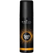 BRELIL Professional COLORIANNE fansy glitter spray GOLD - Фантазийные спрей-блески для волос ЗОЛОТИСТЫЙ 75мл