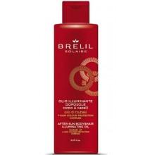 BRELIL Professional SOLAIRE ILLUMINANTING OIL - Масло для волос и тела после пребывания на солнце для сияющего эффекта 150мл