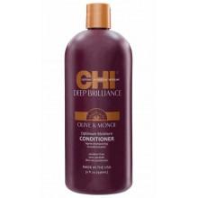 CHI Deep Brilliance Olive & Monoi Optimum Moisture Conditioner - Кондиционер для поврежденных волос 946мл
