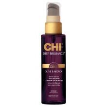 CHI Deep Brilliance Olive & Monoi Shine Serum - Несмываемая сыворотка для волос 177мл