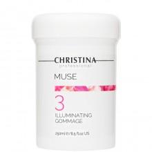CHRISTINA Muse Illuminating Gommage - Отшелушивающий гоммаж для сияния кожи (шаг 3), 250мл