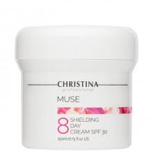 CHRISTINA Muse Protective Day Cream SPF30 - Дневной защитный крем SPF30 (шаг 8), 150мл