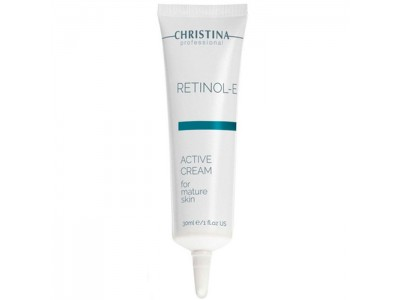CHRISTINA Retinol E Active Cream - Активный крем с ретинолом 30мл