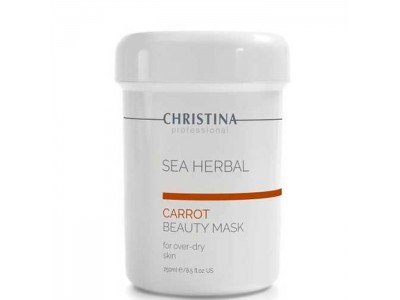 CHRISTINA Sea Herbal Beauty Mask CARROT - Маска для пересушенной кожи 250мл