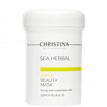CHRISTINA Sea Herbal Beauty Mask GREEN APPLE - Яблочная маска для ЖИРНОЙ и КОМБИНИРОВАНОЙ кожи 250мл