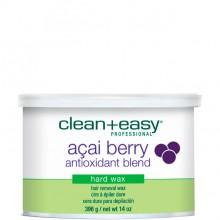 clean+easy Hot Wax Acai berry - Горячий воск в банке с Ягодой аcаи для всего тела 396гр