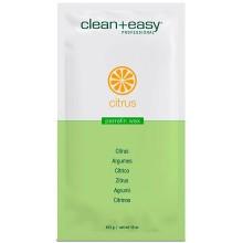 """clean+easy Paraffin Wax Citrus & Aloe - Парафин для всего тела """"Энергия"""" (цитрус и алоэ), 453гр"""