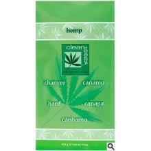 """clean+easy Paraffin Wax Hemp - Парафин для всего тела """"Расслабляющий"""" с Коноплёй 453гр"""