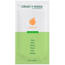 "clean+easy Paraffin Wax Peach & Vitamin E - Парафин для всего тела ""Детокс"" (Персик и витамин Е), 453гр"