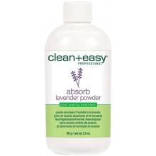 clean+easy Absorb Lavender powder - Пудра для эпиляции с Лавандой 99гр