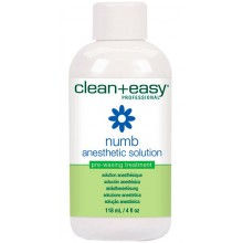 clean+easy Numb Anesthetic Solution - Охлаждающий лосьон с Бензокаином перед эпиляцией 118мл