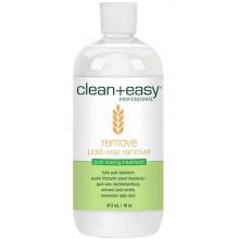 clean+easy Remove post-wax remover - Масло до и после эпиляции с витамином Е, 473мл