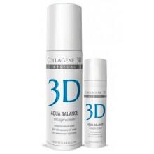 Collagene 3D Cream AQUA BALANCE - ПРОФ Крем для лица с гиалуроновой килотой, восстановление тургора и эластичности кожи 150мл