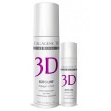 Collagene 3D Cream BOTO LINE - ПРОФ Крем для лица с Syn®-ake комплексом, коррекция мимических морщин 150мл
