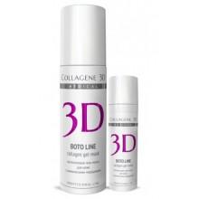 Collagene 3D Gel-Mask BOTO LINE - ПРОФ Гель-маска для лица для кожи с мимическими морщинами 130мл