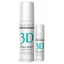 Collagene 3D Gel-Mask EXPRESS PROTECT - ПРОФ Коллагеновая гель-маска для кожи с куперозом 130мл