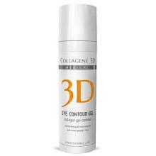 Collagene 3D Gel-Mask EYE CONTOUR GEL - ПРОФ Гель-контур для глаз с янтарной кислотой 30мл