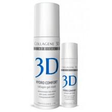 Collagene 3D Gel-Mask HYDRO COMFORT - ПРОФ Гель-маска для лица для раздраженной и сухой кожи 130мл