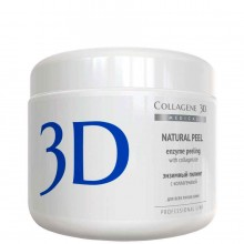 Collagene 3D NATURAL PEEL - ПРОФ Энзимный пилинг с Каллагезаном 150мл