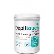 Depiltouch Depilatory Sugar Paste №2 SOFT - Сахарная паста для депиляции МЯГКАЯ 330гр