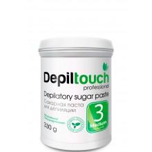 Depiltouch Depilatory Sugar Paste №3 MEDIUM - Сахарная паста для депиляции СРЕДНЕЙ плотности 330гр