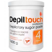 Depiltouch Depilatory Sugar Paste №4 HARD - Сахарная паста для депиляции ПЛОТНАЯ 1600гр