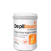 Depiltouch Depilatory Sugar Paste №4 HARD - Сахарная паста для депиляции ПЛОТНАЯ 330гр