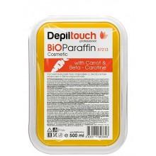 Depiltouch BIOParaffin With Carrot & Beta-Carotine - БИО Парафин косметический с Бета каротином 500мл