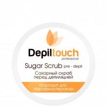 Depiltouch Skin Care Pre-depil SUGAR Scrub - Скраб сахарный перед депиляцией с МЁДОМ 250мл