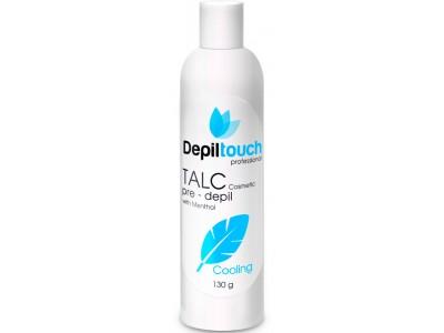 Depiltouch Skin Care Pre-depil TALK with MENTHOL - Тальк косметический с МЕНТОЛОМ 130гр