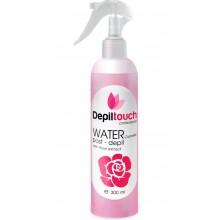 Depiltouch Skin Care WATER post-depil with ROSE - Вода косметическая охлаждающая с экстрактом РОЗЫ 300мл