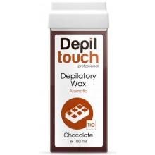 Depiltouch Depilatory Wax Aromatic CHOCOLATE - Тёплый воск для депиляции Ароматический ШОКОЛАД 100мл