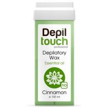 Depiltouch Depilatory Wax Essential Oil CINNAMON - Тёплый воск для депиляции с Эфирными маслами КОРИЦА 100мл