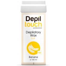 Depiltouch Depilatory Wax Fruit BANANA - Тёплый воск для депиляции (средний) + 40С Фруктовый БАНАН 100мл