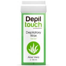 Depiltouch Depilatory Wax Gel Apil ALOE VERA - Тёплый воск для депиляции Гелевый АЛОЭ ВЕРА 100мл