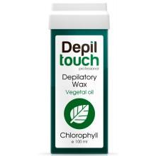 Depiltouch Depilatory Wax Vegetal Oil CHLOROPHYLL - Тёплый воск для депиляции с натуральным маслом ХЛОРОФИЛЛ 100мл