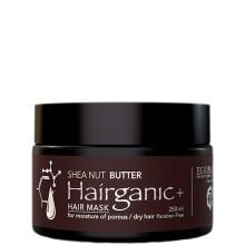 EGOMANIA Hairganic+ Shea Nut Butter Hair Mask - Маска с маслом ши для пористых сухих волос 250мл