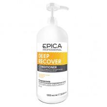 EPICA Professional DEEP RECOVER CONDITIONER - Кондиционер для поврежденных волос с маслом сладкого миндаля и экстрактом ламинарии 1000мл