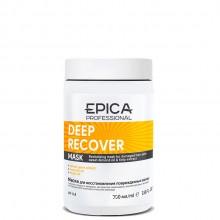 EPICA Professional DEEP RECOVER MASK - Маска для поврежденных волос с маслом сладкого миндаля и экстрактом ламинарии 250мл