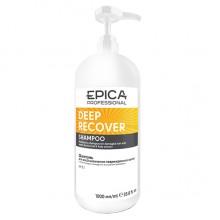 EPICA Professional DEEP RECOVER SHAMPOO - Шампунь для поврежденных волос с маслом сладкого миндаля и экстрактом ламинарии 1000мл