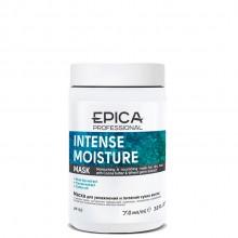 EPICA Professional INTENSE MOISTURE MASK - Увлажняющая маска для сухих волос с маслом какао и экстрактом зародышей пшеницы 250мл
