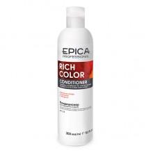 EPICA Professional RICH COLOR CONDITIONER - Кондиционер для окрашенных волос с маслом макадамии и экстрактом виноградных косточек 300мл